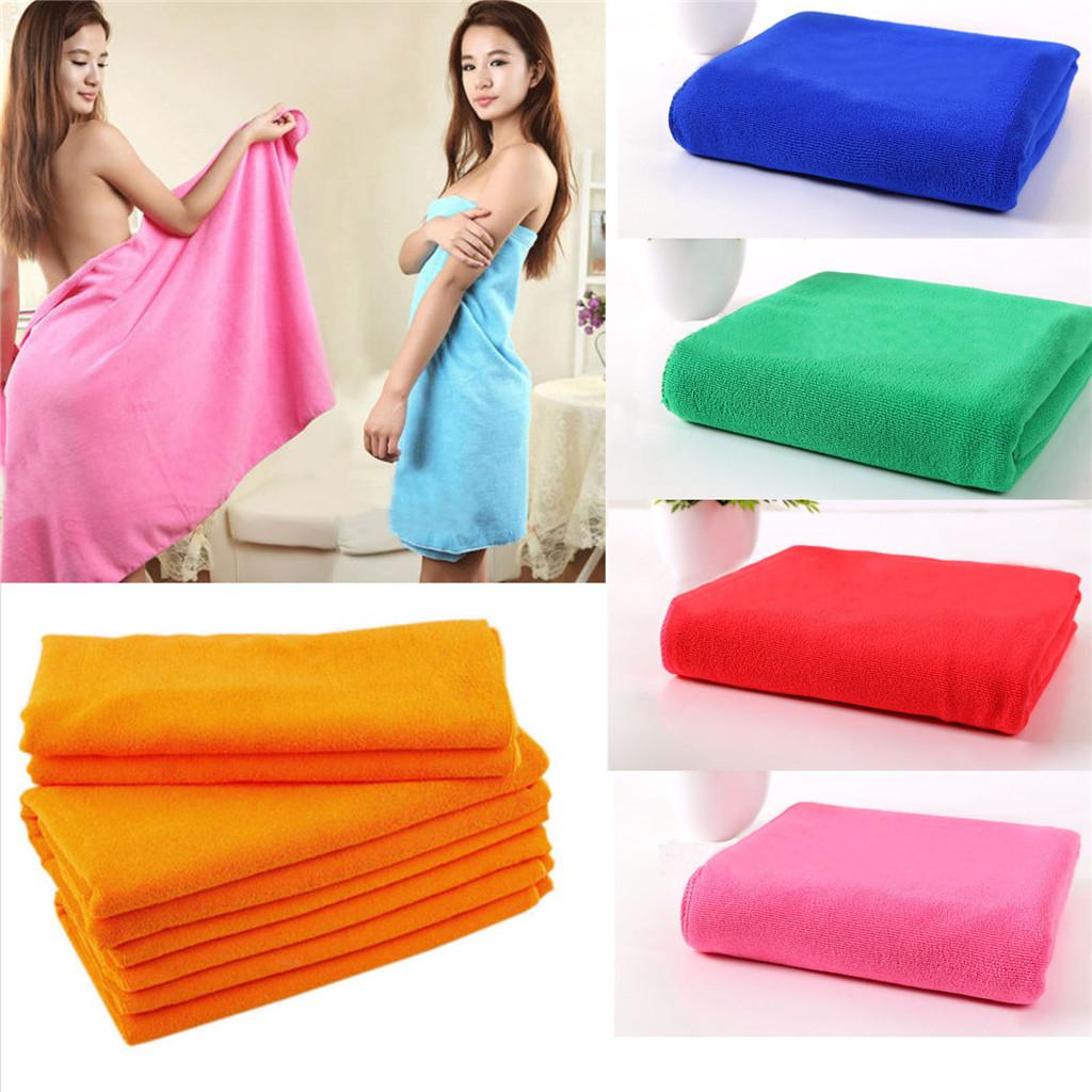Gym Towel Online India: Microfiber Towel Sports Gym Bath Quick Dry Travel Red