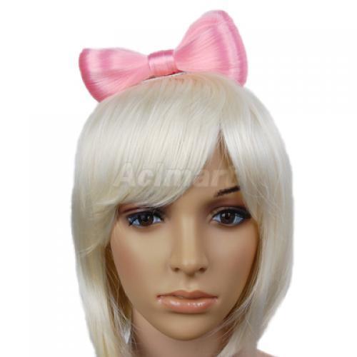 lady gaga hair bow. Fashion Lady Gaga Hair Bow Wig